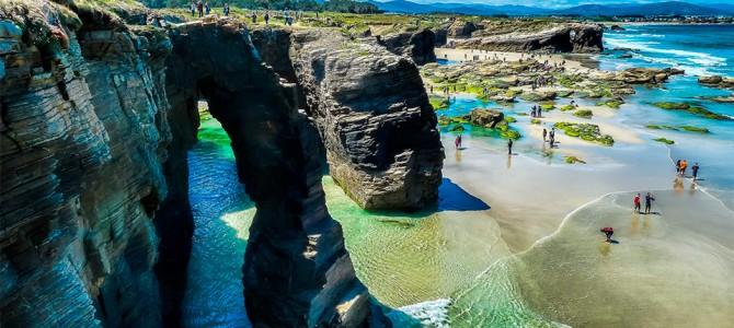 La playa de las Catedrales entre las mejores de España, según TripAdvisor