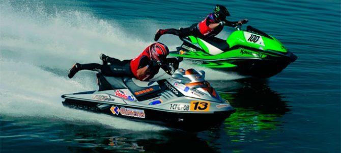 Sanxenxo, sede del campeonato de España de motos acuáticas