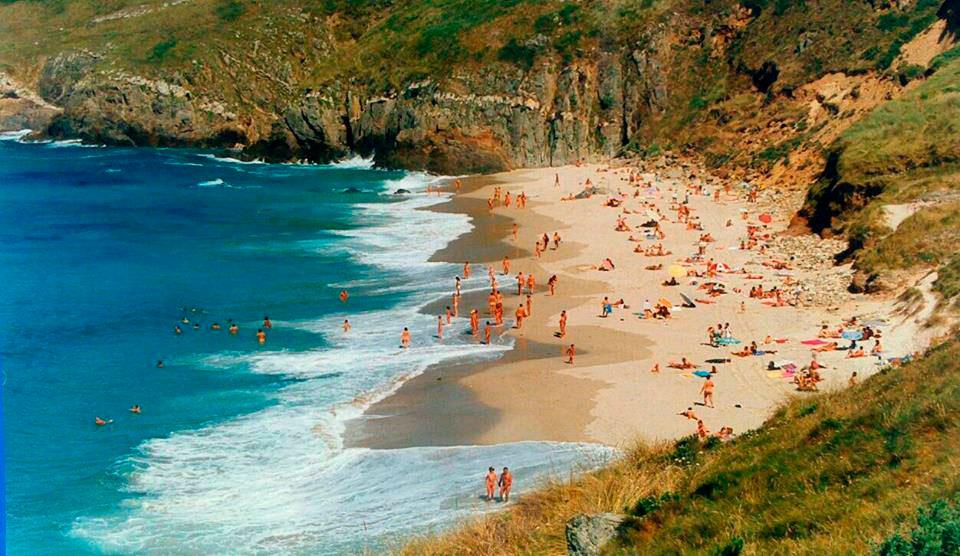"""Playa Combouzas, Arteixo (A Coruña) PLAYA Combouzas """"UN PARAISO"""""""