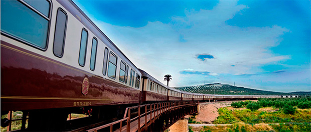 El tren turístico Al Andalus incorpora Madrid a su ruta de Camino de Santiago