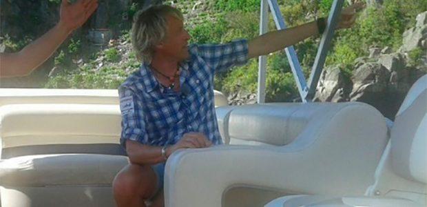El televisivo Jesús Calleja se enamora de la Ribeira Sacra