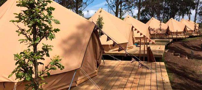 La Illa de Ons estrena el primer camping autosostenible de Galicia