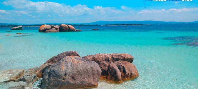 """Ruta en kayak al Islote de Areoso, nuestro particular """"caribe gallego"""""""