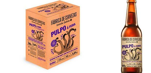 Estrella Galicia lanza una edición «Pulpo á Feira»