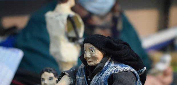 El Belén artesanal de Valga prepara una edición histórica para su 25 aniversario