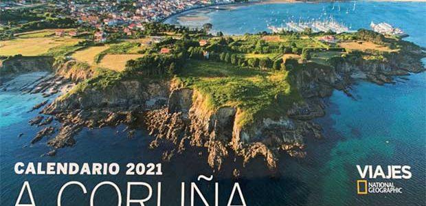 Los lugares emblemáticos de A Coruña, en el calendario de National Geographic