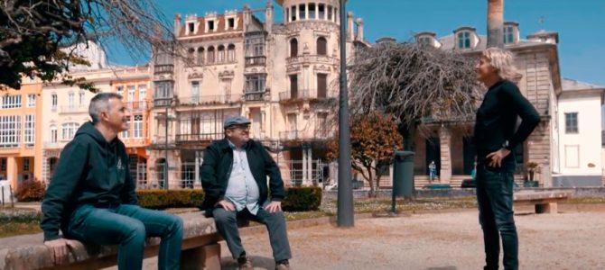 Así disfrutó Jesús Calleja de su visita a Ribadeo, elegido 'el pueblo más amado' del país en el concurso de Adamo