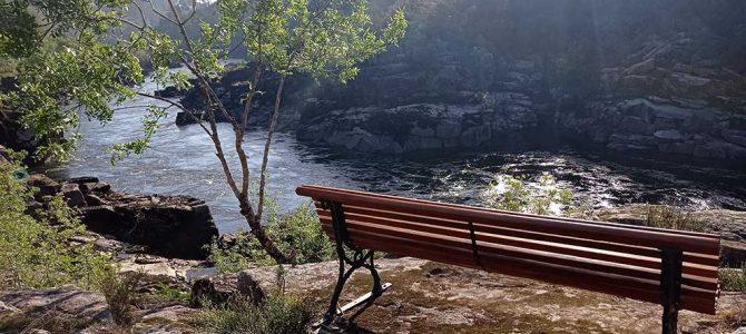 Dos nuevos miradores con vistas al río Miño
